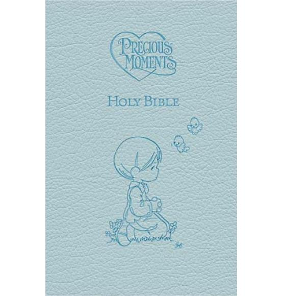 ICB Precious Moments Holy Bible - Blue Edition