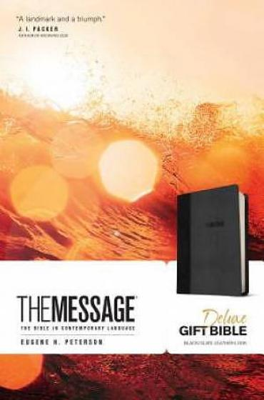 The Message Delux Gift Bible
