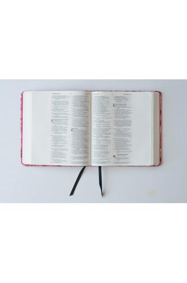 NIV Journalling Bible Pink Ruby Inside